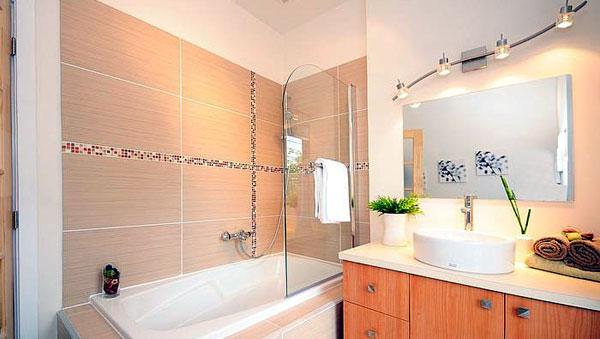 Ralisation de l agencement de salle de bain aix en - Ceramique decor salle de bain ...