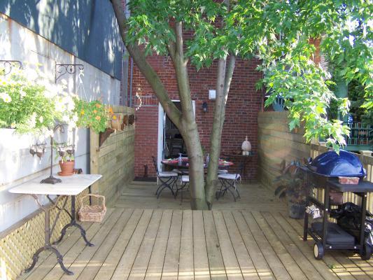 Arbre sur terrasse amazing ambiance with arbre sur - Arbre pour terrasse appartement ...