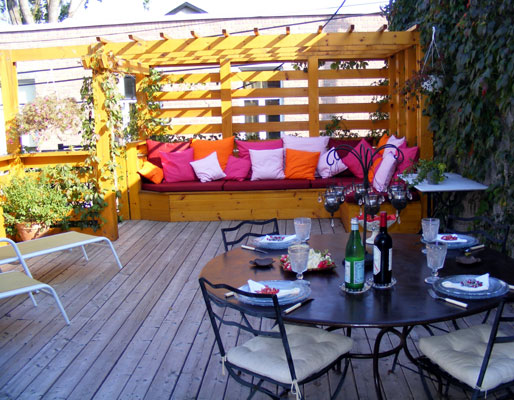 R alisations r novation design int rieur et ext rieur for Decoration terrasse exterieur