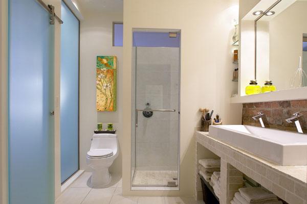 D coration de la salle de bain d couvrez nos id es d co - Plaques adhesives salle de bain ...